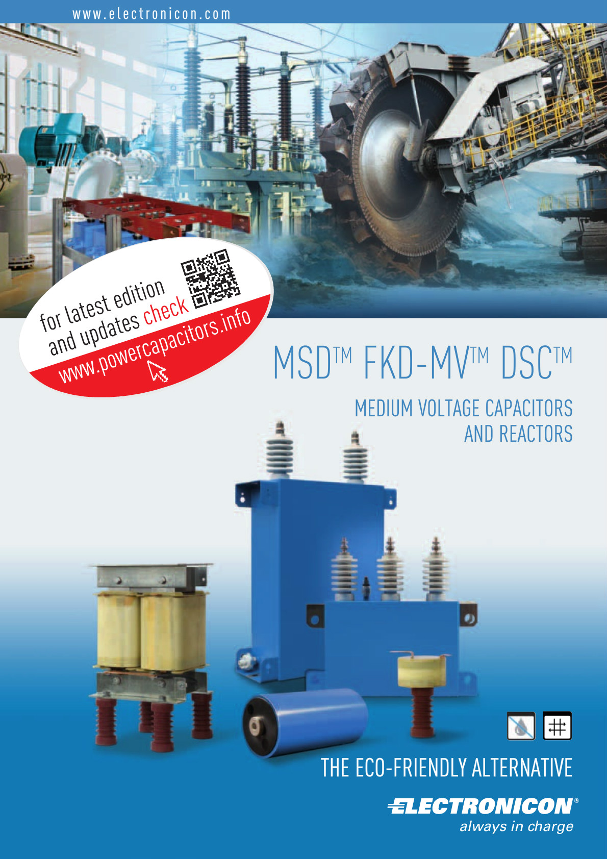 Ekg Online Catalogue Power Factor Correction Capacitors Medium Voltage And Reactors For 312kv